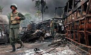 Sri Lankan government troops