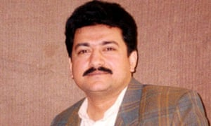The Pakistani journalist Hamid Mir