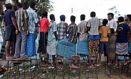 Tamil refugee camp