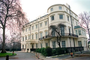 grace and favour houses: The Foreign Secretary's official residence at No.1 Carlton Gardens