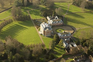grace and favour houses: Chevening, official residence of the home secretary, Kent