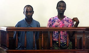 Malawian gay couple Steven Monjeza and Tiwonge Chimbalanga found guilty of unnatural acts