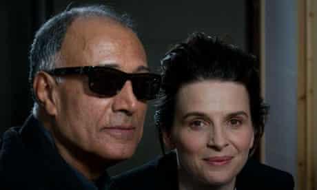 Iranian director Abbas Kiarostami and Fr