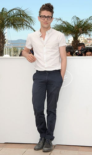 Cannes fashion: Xavier Dolan