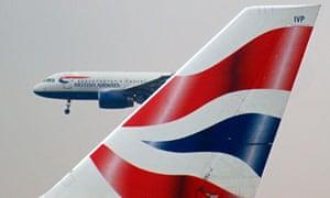 Two British Airways jets