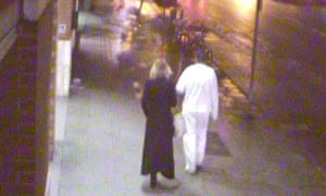 CCTV image of suspects in Banksy robbery