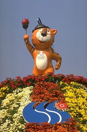Olympic mascots: 1998 - Seoul, Korea Hodori the tiger olympic mascot