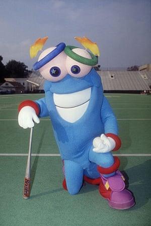 Olympic mascots: 1996 Atlanta, USA: 'Izzy' olympic mascot