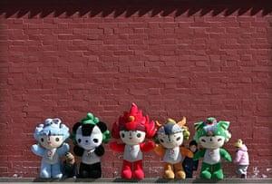 Olympic mascots: 2008 - Beijing, China: 'Fuwa' olympic mascots