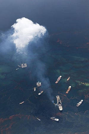 Deepwater Horizon: Oil spill reaches Louisana coast