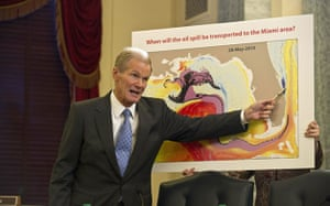Deepwater Horizon: Oil spill reaches Louisana : Democratic Senator from Florida Bill Nelson