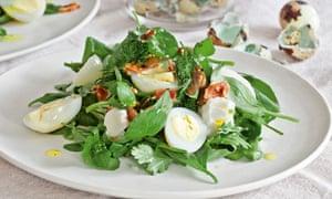 Watercress and ricotta salad