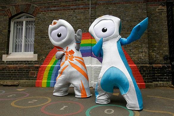 Olympics 2012 mascot images