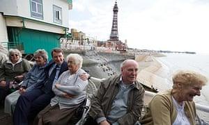 Peter Mandelson in Blackpool