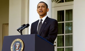 Barack Obama in the White House garden