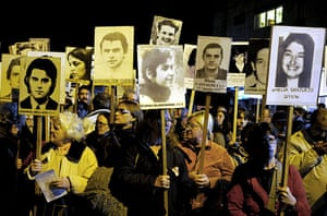 24 hours in pictures: Montevideo, Uruguay: People march to demand justice for their loved ones