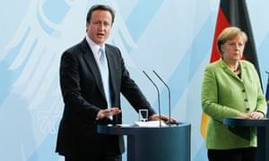 Angela Merkel, David Cameron