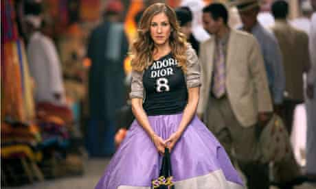 Sarah Jessica Parker in Sex and the City 2.