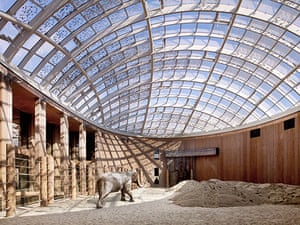 Norman Foster: Elephant House, Copenhagen Zoo, Denmark by Foster and Partners