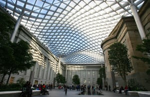 Norman Foster: The Robert and Arlene Kogod Courtyard designed by Foster and Partners