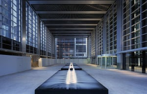 Norman Foster: Interior of Deutsche Bank Place, Sydney, by Norman Foster and Partners