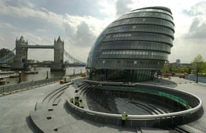 Norman Foster: GLA (Greater London Authority) headquarters, London, by Foster and Partners