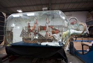 Nelson's Ship in a Bottle: Nelson's Ship in a Bottle by Yinka Shonibare