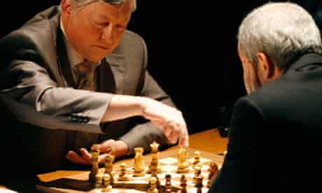 Former chess world champion Anatoly Karpov