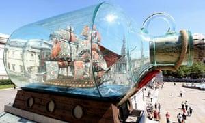 Yinka Shonibare's Nelson's Ship in a Bottle