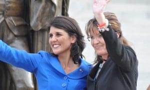 Nikki Haley and Sarah Palin