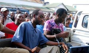 Steven Monjeza and Tiwonge Chimbalanga