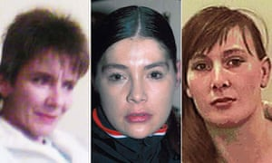 Missing Bradford prostitutes Susan Rushworth, Suzanne Blamires and Shelley Armitage