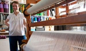 Weave designer Eleanor Pritchard