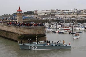 Dunkirk little ships: A little ship leaves Ramsgate for the 70th anniversary of Operation Dynamo