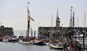 Dunkirk little ships: Some fifty original Dunkirk boats depart for Dunkirk from Ramsgate