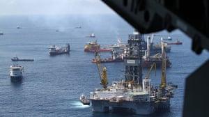 Update oil spill: Deepwater Horizon Oil spill :  Relief oil rigs