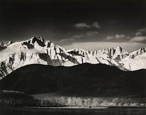 Polaroid Collection: Ansel Adams print