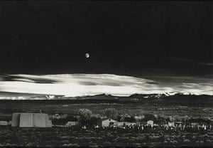 Polaroid Collection: Moonrise, Hernandez, New Mexico