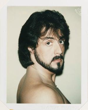 Polaroid Collection: Sylvester Stallone