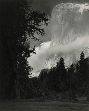 Polaroid Collection: El Captain – Winter by Ansel Adams