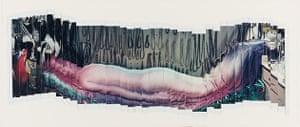 Polaroid Collection: Lucas Samaras Panorama