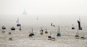 Dunkirk Little Ships: The Little ships arrive in Dunkirk for 70th anniversary of Operation Dynamo