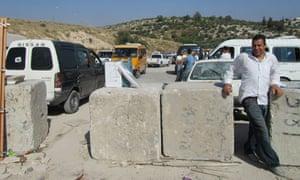 Bassam Kassab on route 443