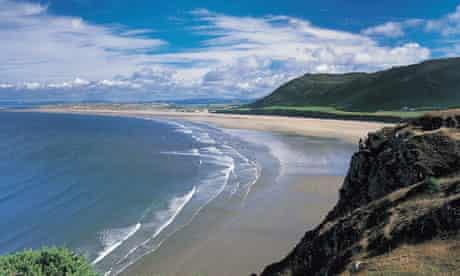 Rhossili Beach, Gower Peninsula, West Glamorgan