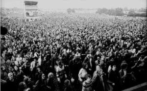 Glastonbury at 40: Photo of CROWDS