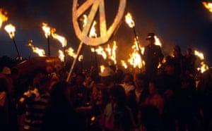 Glastonbury at 40: GLASTONBURY FESTIVAL, BRITAIN - JUN 1983 glasto