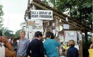 Glastonbury at 40: Glastonbury Festival, Britain - Jun 1984 glasto