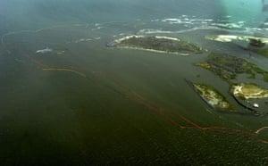 Deepwater Horizon oil rig: Oil spill affects Louisiana Gulf Coast