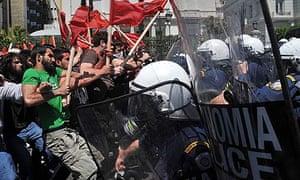 Greece social unrest