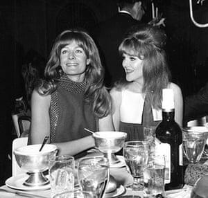Lynn Redgrave: Lynn Redgrave and Vanessa Redgrave at the Oscars in 1967